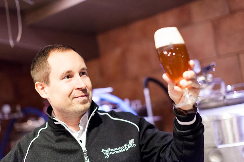 Jussi Laukkanen, Saimaan Juomatehdas (MBH Breweries Oy)