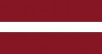 Latvian lippu