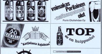 Olutta ja mennyttä