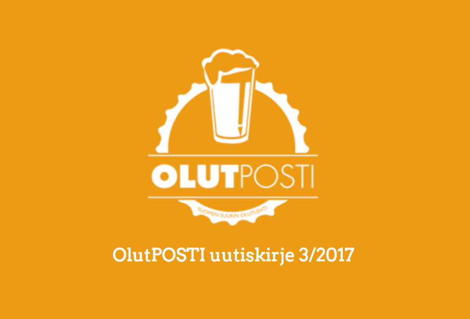 OlutPOSTI uutiskirje 3/2017