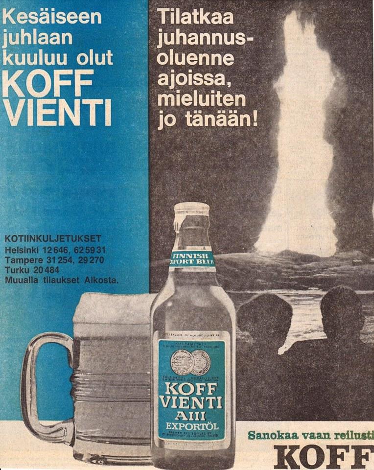 Koff Vienti (HS 19.6.'67)
