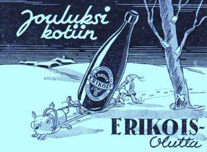Lahden olutmainos joulu