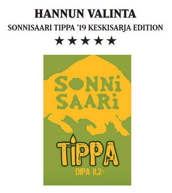 Sonnisaari Tippa DIPA hanalätkä