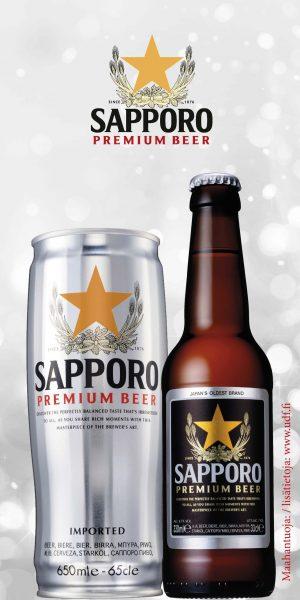 Sapporo olutmainos