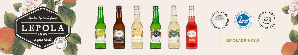 Lepola Drinks mainos