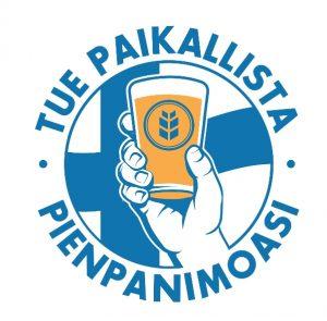 Kuvassa pienpanimoliiton logo