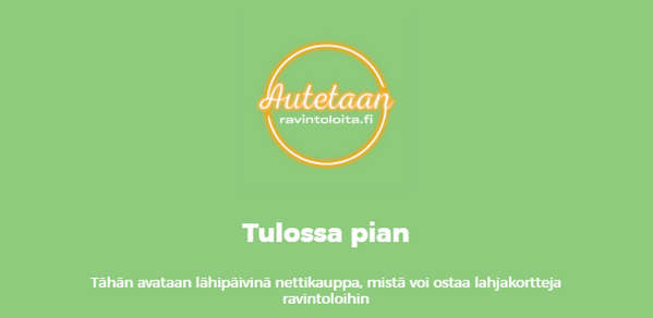 autetaanravintoloita.fi etusivu
