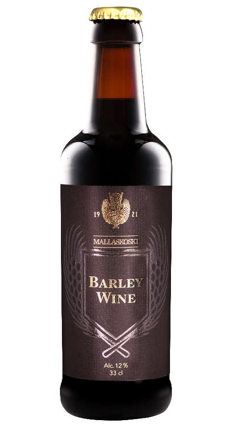 Mallaskoski barley wine olutpullo