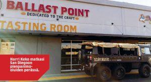 Ballast Point panimon edustalla