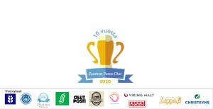 Kuvassa Suomen Paras Olut -kilpailun logo