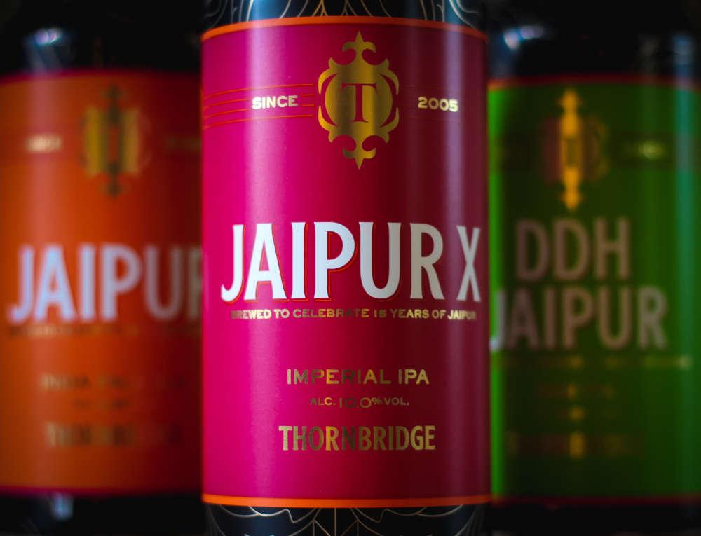 Jaipur oluttölkkejä