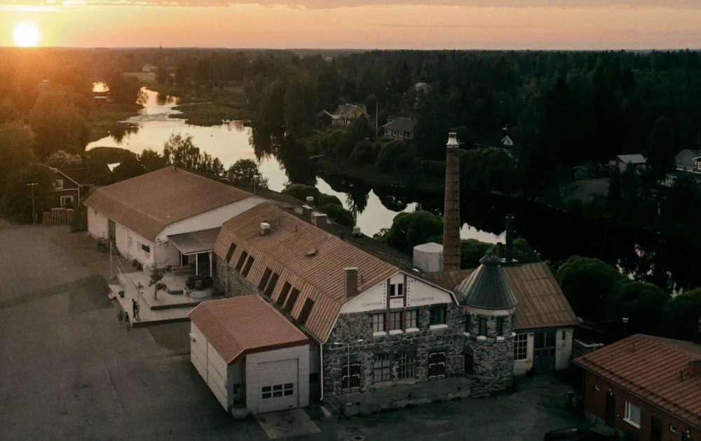 Kyrö Distillery Co tehdas