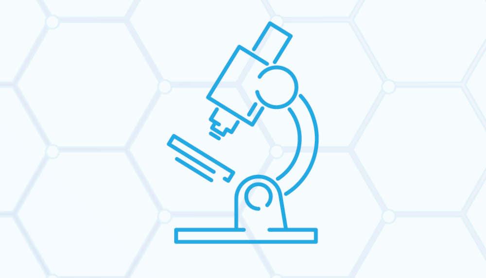 mikroskooppi grafiikassa