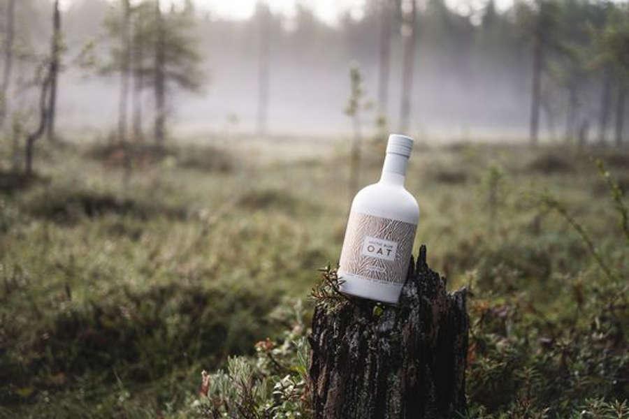 likööriä metsässä