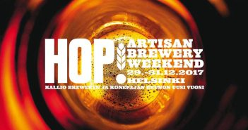 HOP! Artisan Brewery Weekend – uusi vuosi 2018