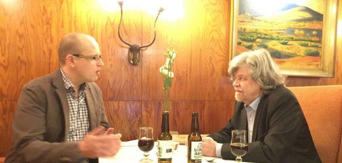 Kaksi puheenjohtajaa Somerolta kohtasivat