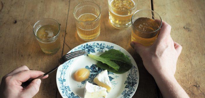 Pidä siideri ja juusto -tasting