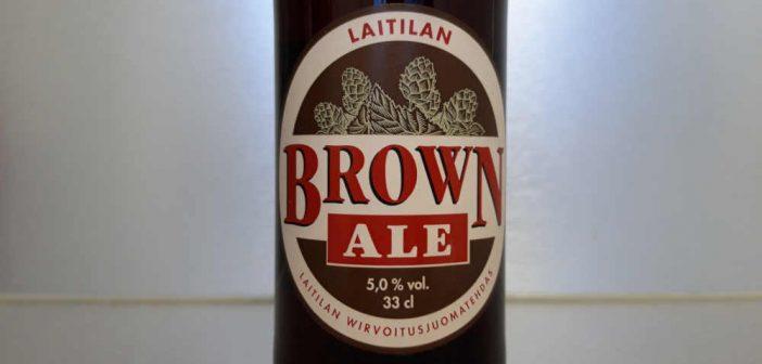 Laitilan Wirvoitusjuomatehtaan Brown Ale on tumma ja maltainen pintahiivaolut