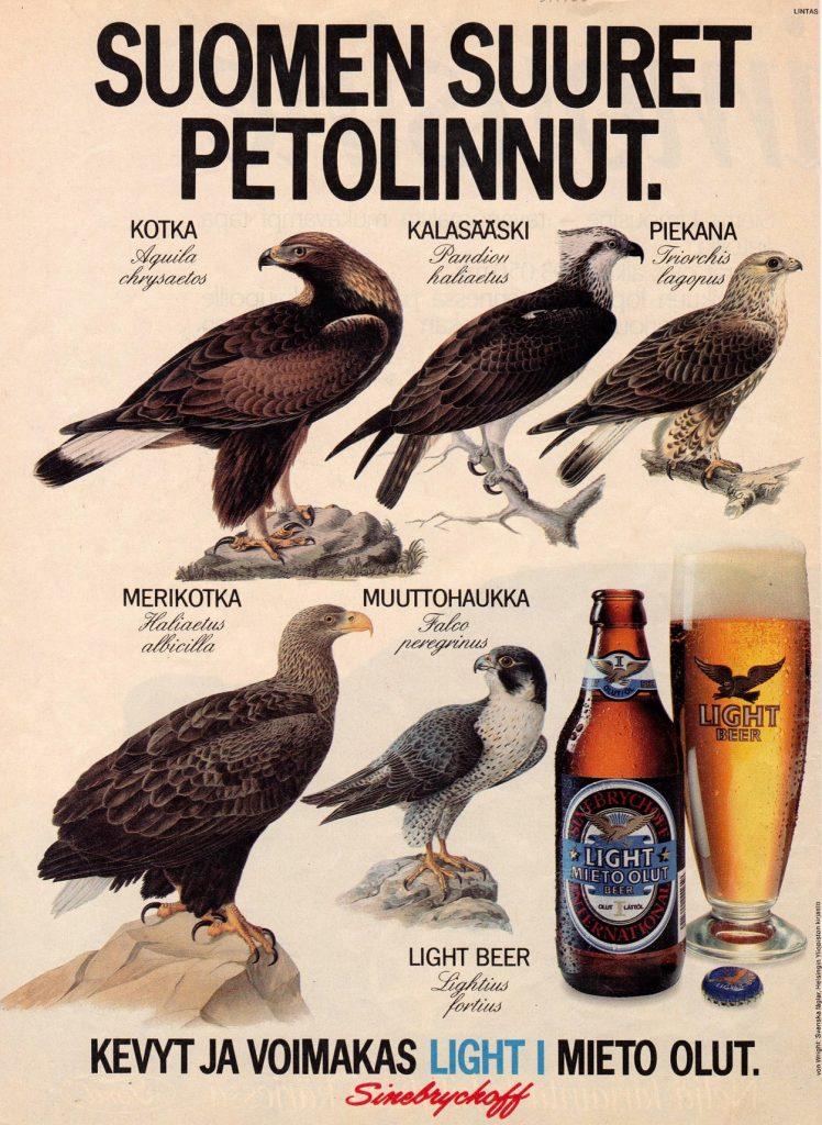 Light Beer - Suomen Suuret Petolinnut