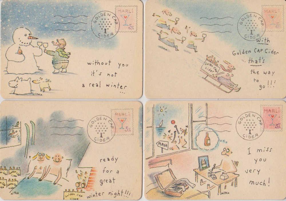 postikortteja