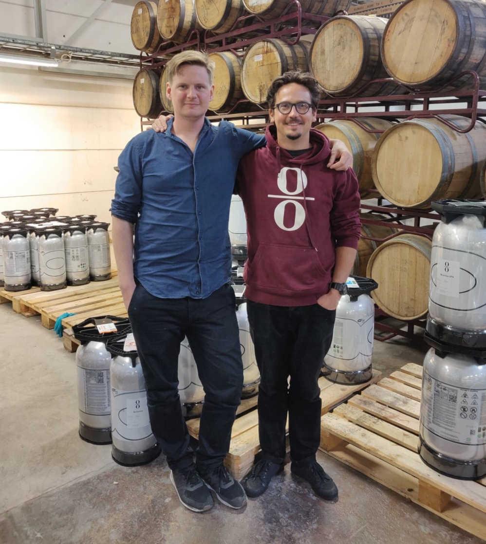 2 men brewery