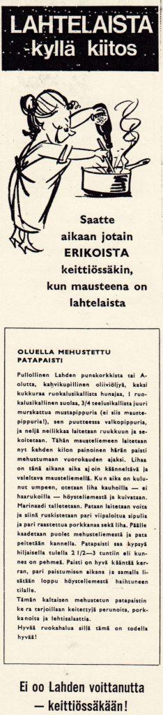 LAHTELAISTA