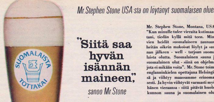 Olutta ja mennyttä – maltaista panimohistoriaa mainosten välityksellä #66