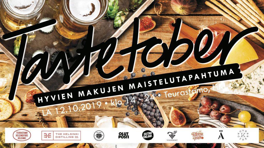 Olutposti on mukana tuottamassa Tastetober tapahtumaa helsingin teurastamollle.